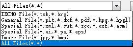 認識可能なファイルタイプは多様です