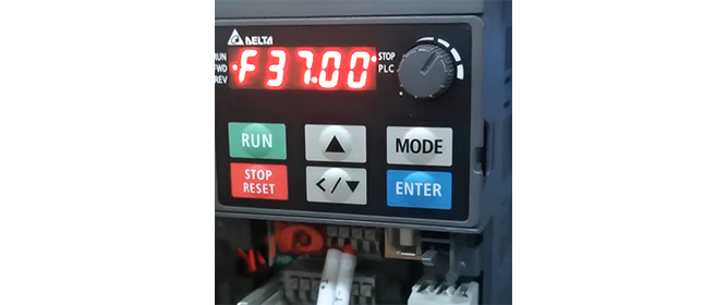 ポンプ周波数制御システム