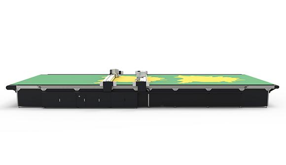 LCKSレザーカッティング生産ライン